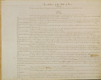 The Texas Constitution of 1986