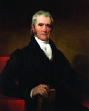 A portrait of Chief Justice John Marshall