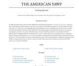 American Yawp Instructor Materials