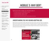 Module 3: Why OER?