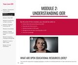 Module 2: Understanding OER