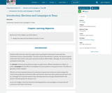 Texas Government 2.0, Elections and Campaigns in Texas, Introduction: Elections and Campaigns in Texas