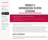 Module 4: Introduction to Open Licensing