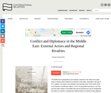 Conflict and Diplomacy in the Middle East: External Actors and Regional Rivalries