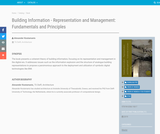 Building Information - Representation and Management: Fundamentals and Principles