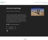 Abnormal Psychology – FSCJ