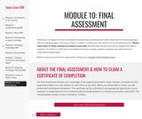 Module 10: Final Assessment