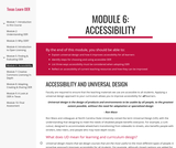Module 6: Accessibility