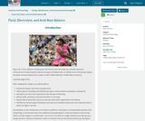 Anatomy and Physiology, Energy, Maintenance, and Environmental Exchange, Fluid, Electrolyte, and Acid-Base Balance