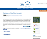 The History of Our Tribe: Hominini