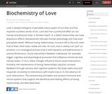 The Biochemistry of Love