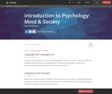 Introduction to Psychology: Mind & Society