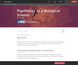 Psychology as a Biological Science