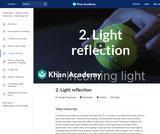 2. Light reflection