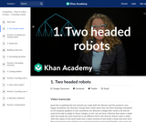 1. Two headed robots
