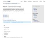 BA 228 - Computerized Accounting