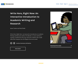 Write Here, Right Now: An Interactive Introduction to Academic Writing and Research